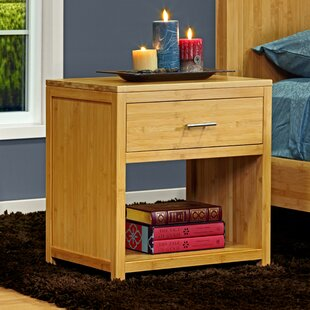 Check Prices Acosta 1 Drawer Nightstand by Millwood Pines