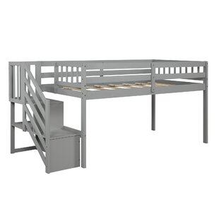 Bremmer Twin Low Loft Bed with Shelves by Isabelle amp Max