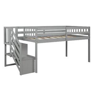 Efim Twin Low Loft Bed with Storage