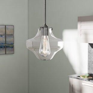 Ebern Designs Dingess 1 Light Schoolhouse..