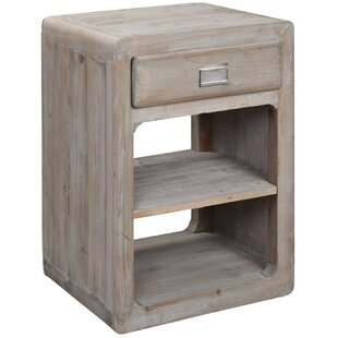 Perreault End Table by One All..