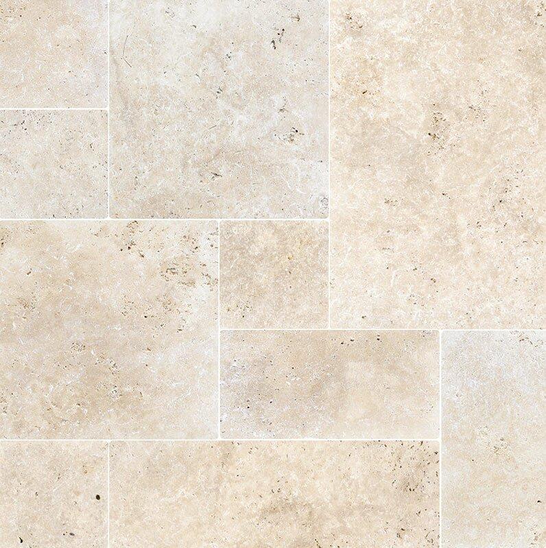 Travertine Mosaic Wall Floor Tile
