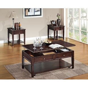 A&J Homes Studio Malachi Coffee Table with Lift Top
