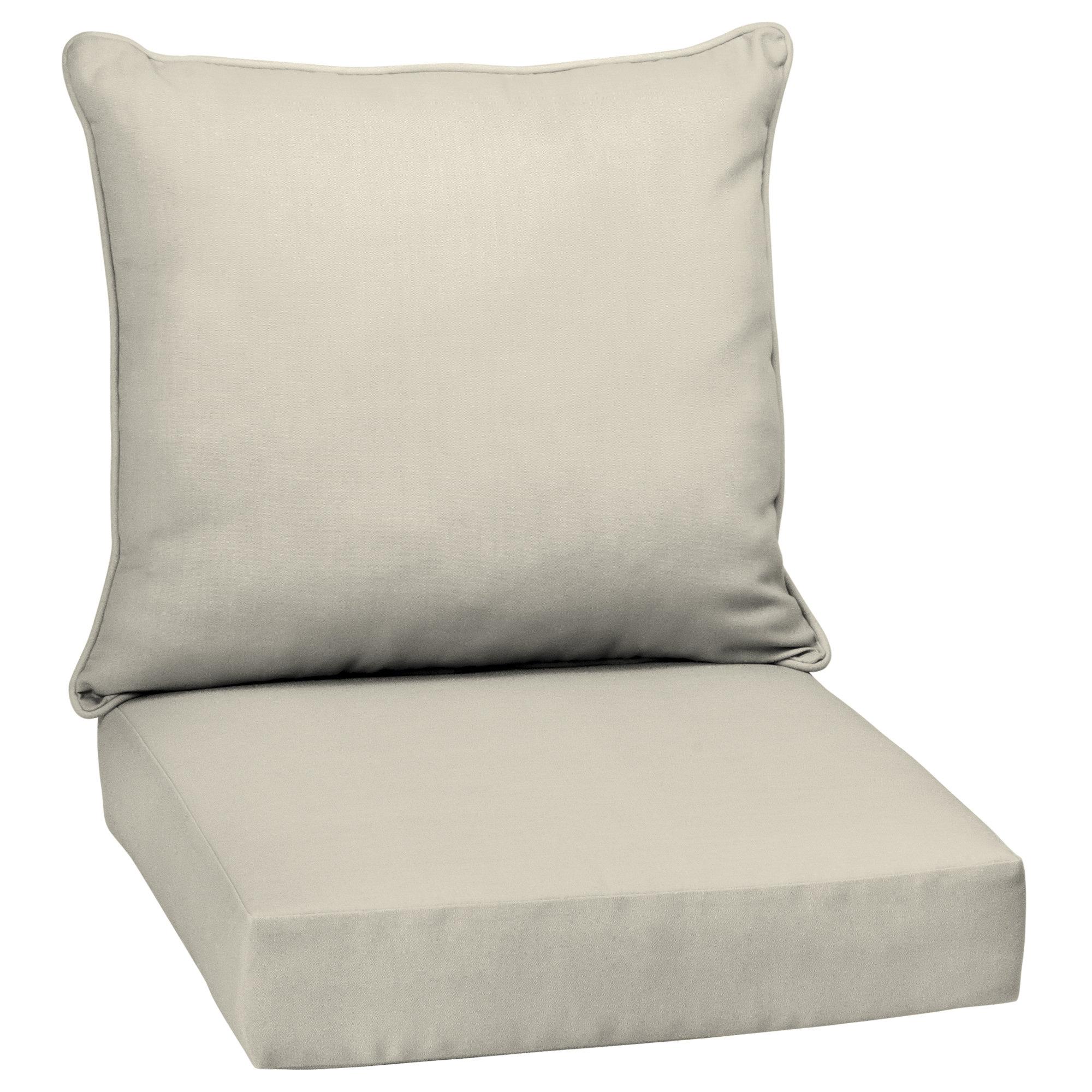 Adelia Texture Outdoor Seat Back Cushion Reviews Birch Lane