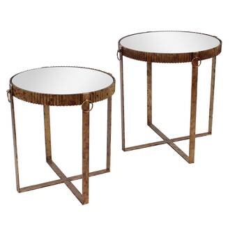 Rosdorf Park Thibodeau Wheel End Table With Storage Wayfair