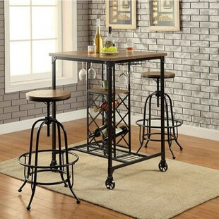 Weber 3 Piece Pub Table Set