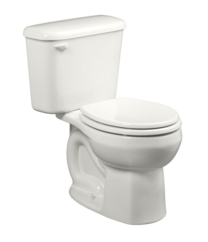 American Standard Colony 1.6 GPF Round Two-Piece Toilet (Seat Not Included)