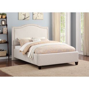 Angella Upholstered Panel Bed by Darby Home Co