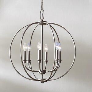 Naomie 6-Light Globe Pendant
