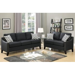 Broadway Sofa and Loveseat Set