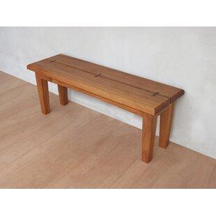 Masaya & Co Xiloa Wood Bench