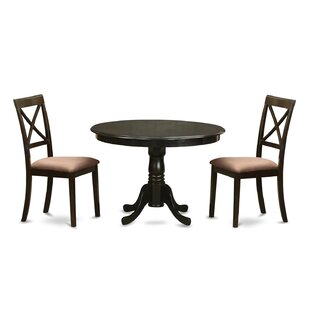 Travis 3 Piece Dining Set by August Grove Cool