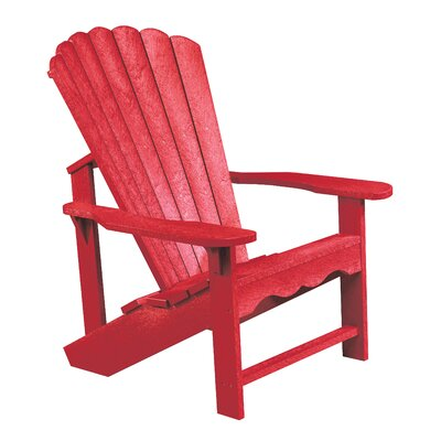 Alanna Plastic Adirondack Chair by Beachcrest Home