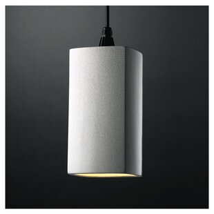 Redden 1 Light Square/Rectangle Pendant by Latitude Run