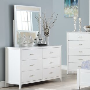 Winston Porter Viva 6 Drawer Double Dresser ..