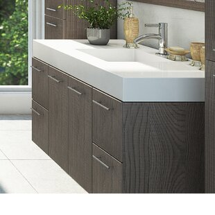 Ophir 72 Wall-Mounted Double Bathroom Vanity by Orren Ellis