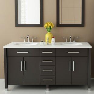 Rana 59 Double Bathroom Vanity Set by JWH Living