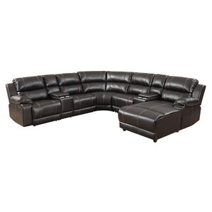 Reclining Sectional (Set of 7) by BestMasterFurniture