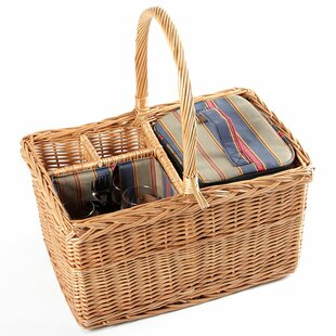 Regatta Willow Picnic Hamper For Two People By Brambly Cottage