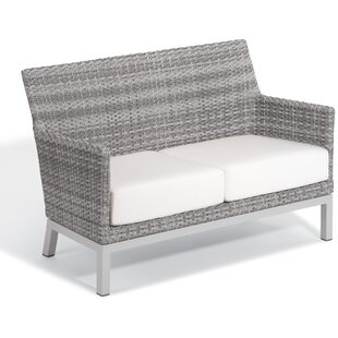 Brayden Studio Saleem Loveseat with Cushi..