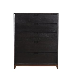 Gracie Oaks Loyd 5 Drawer Chest