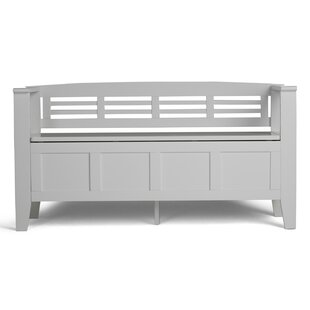 Glossop Wood Storage Bench