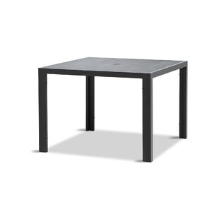 Cynthia Stone/Concrete Dining Table by 17 Stories