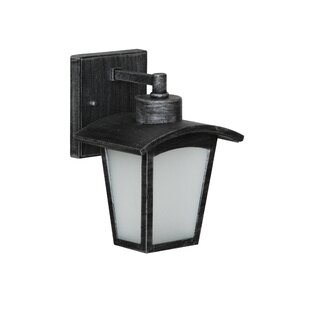 Red Barrel Studio Leida 1-Light Outdoor Wall Lantern