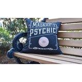 Maser The Psychic Eye Halloween Outdoor Throw Pillow