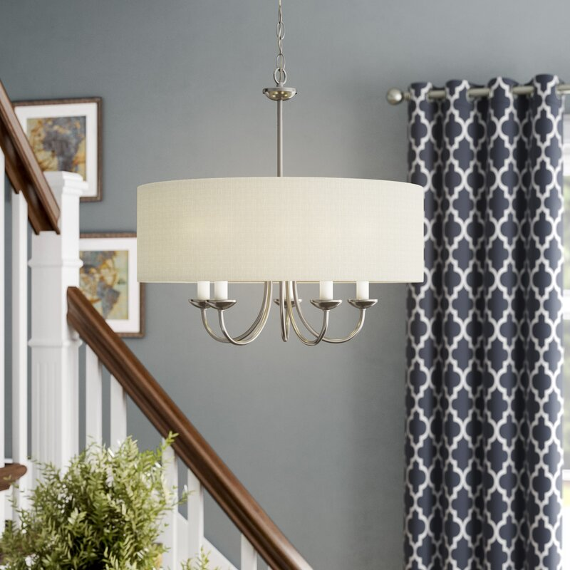 Andover mills burton 5 light chandelier reviews wayfair burton 5 light chandelier aloadofball Images