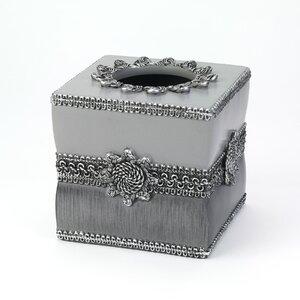 Braided Medallion Tissue Box Cover