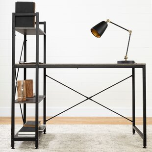 Evane Industrial Computer Desk