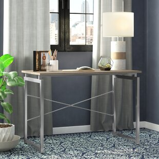 Chung Floating Top Office Writing Desk by Ebern Designs