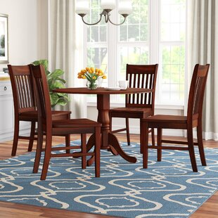 Spruill 5 Piece Drop Leaf Dining Set August Grove
