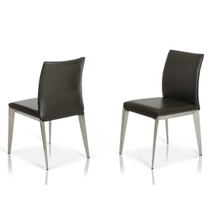 Clower Modern Parsons Dining Chair (Set of 2) Orren Ellis