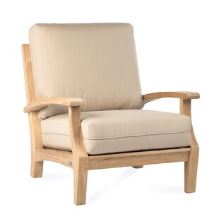 Boyle Teak Patio Chair with Cushion