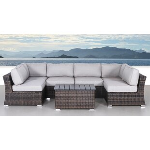 Huddleson 7 Piece Sectional Set with Cushions ByRosecliff Heights