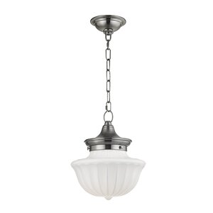 Emmett 1-Light Schoolhaouse Mini Pendant