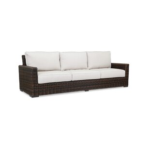 Montecito Sofa with Sunbrella Cushions by Sunset West