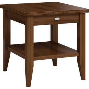 Bowery End Table with Drawer by Caravel