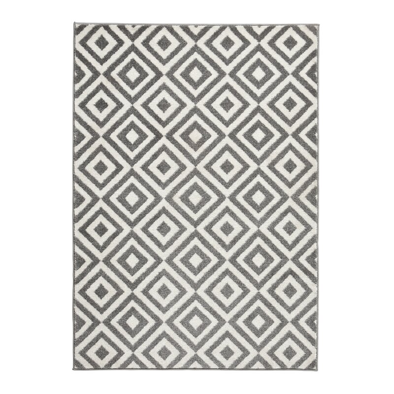 Hashtag Home Elane Grey Area Rug Amp Reviews Wayfair Co Uk