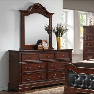 Haney 7 Drawer Dresser with Mirror