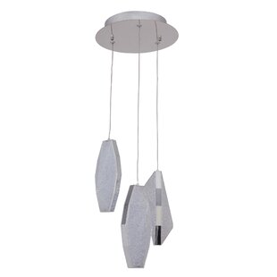 Merrin 3-Light LED Pendant by Latitude Run