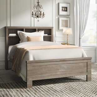 Bedlington Platform Bed with Bookcase