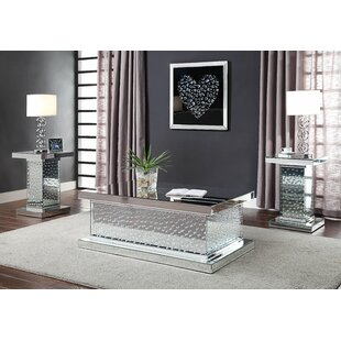 Longo 3 Piece Coffee Table Set