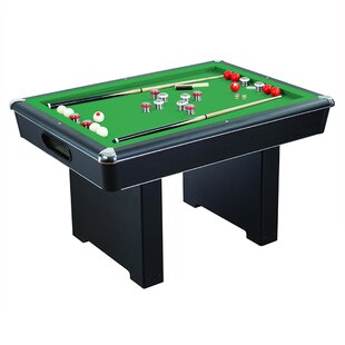 Bon Renegade Slate 4.5u0027 Bumper Pool Table U0026 Accessories
