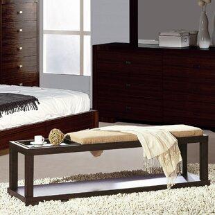 Hokku Designs Parson Wooden Bench