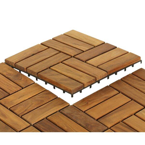 Sample Ez Floor In Solid Teak Wood
