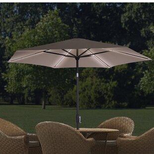 QuikShade 9' Lighted Umbrella
