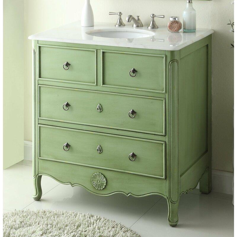 "Walburn 34"" Single Bathroom Vanity"